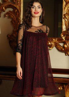 rochie artista visinie de ocazie cu croi larg din S041243 1 408130